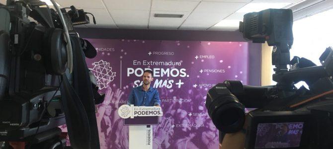 """Álvaro Jaén: """"Vara es el único presidente autonómico que considera positivo pactar con el PP, cuando es una irresponsabilidad"""""""